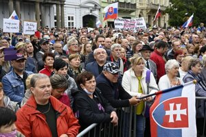 September 1 protest organised by Smer in Košice