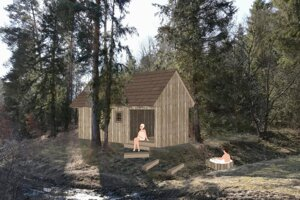 Another forest sauna should be built in Harichovce, eastern Slovakia, next year.
