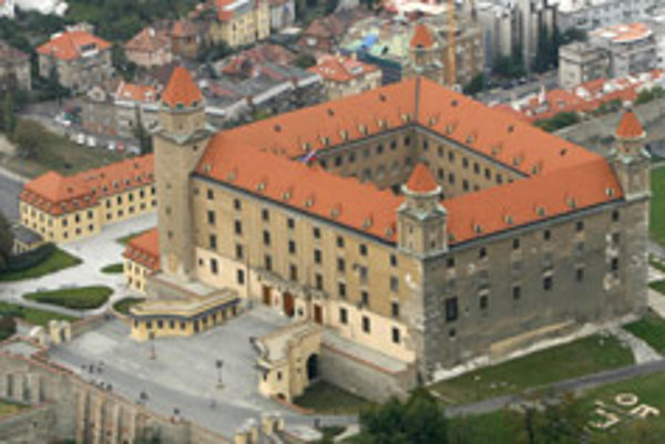 Bratislava Castle will undergo extensive reconstruction.