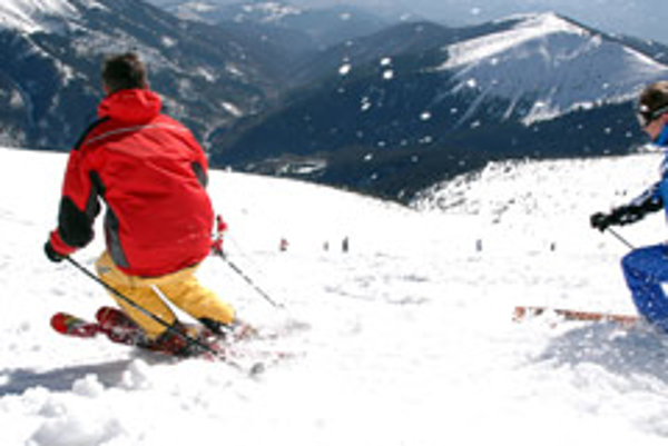 Chopok-Juh offers excellent skiing conditions.