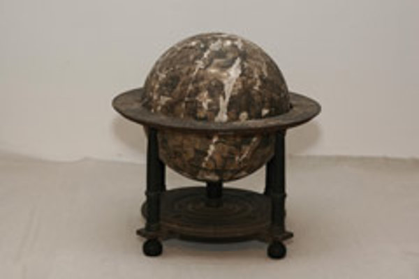 Museum workers in Komárno were surprised this globe dates back to 1603.
