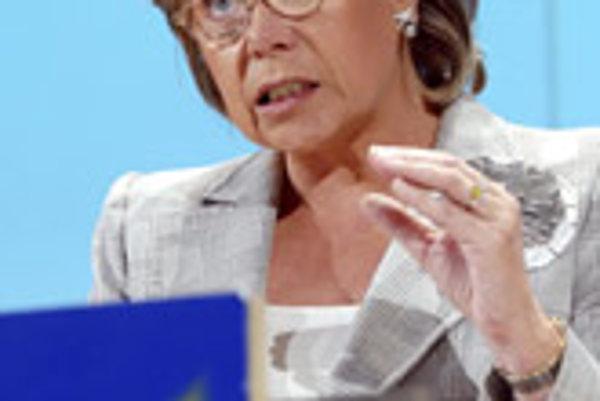 EC Commissioner Viviane Reding.