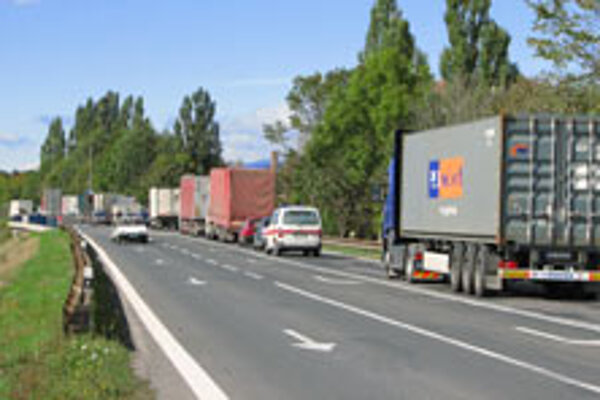Slovakia's first-class roads are on average 20 years old.