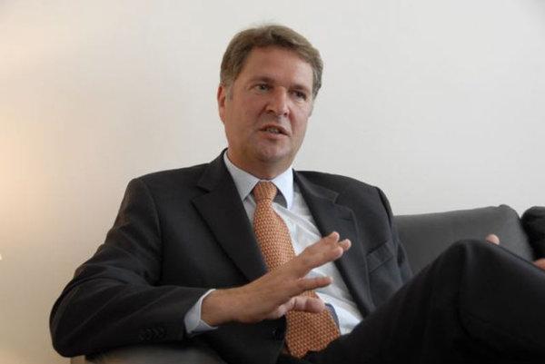 The Royal Netherlands Ambassador to Slovakia Rob Swartbol.