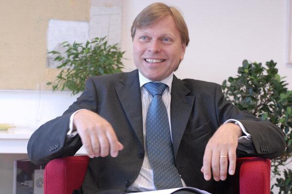 Swedish Ambassador to Slovakia Mikael Westerlind