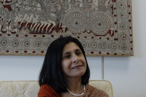 India's Ambassador Homai Saha