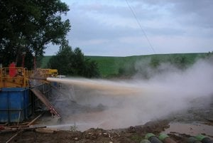The high start–up cost of drilling wells may discourage investment in geothermal energy.