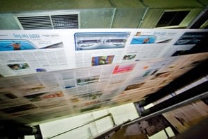 The increase in revenues for online ads has taken a bite out of the advertising in print media.