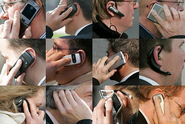 'I can't quite hear you...': The mobile market offers an extensive range of services.