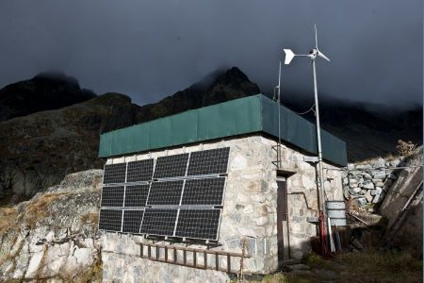 In November 2009 Slovenské Elektrárne finished installation of a photovoltaic system together with electrical wiring system at Téryho chata (Téry Hut).