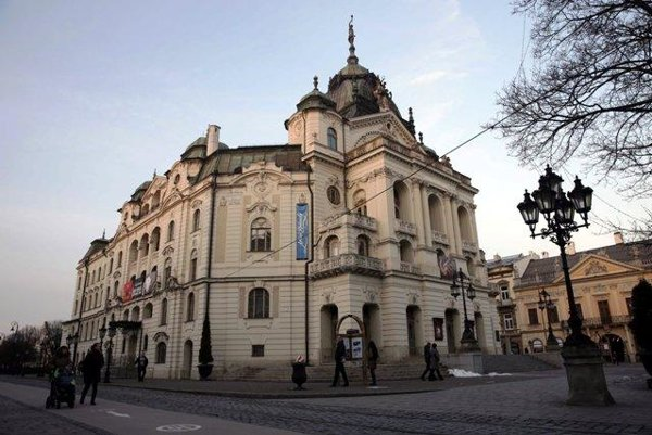 The historical building of Košice theatre