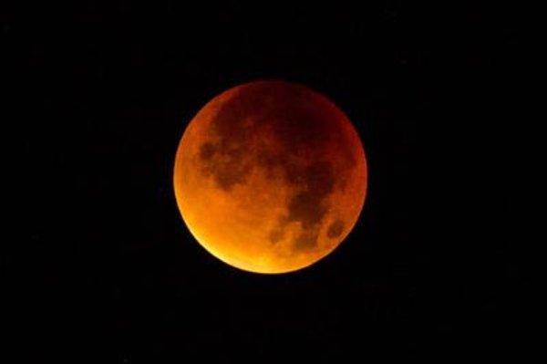 Blood Moon in Bratislava.