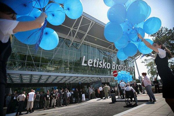 Bratislava Airport's new terminal opened in 2009.