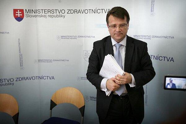 Health Minister Ivan Uhliarik