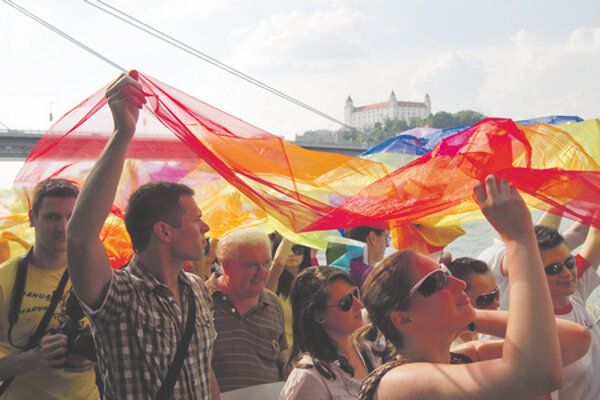 Rainbow Pride was expected to attract 2,000 people