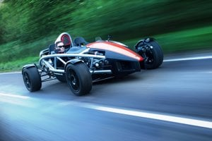 Ariel Atom offers a high-speed experience.