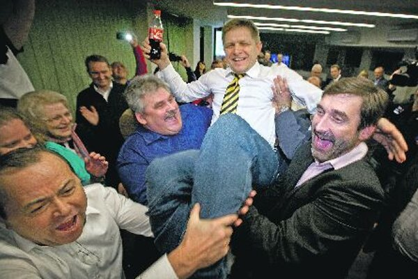 Rober Fico's Smerwonthe election by a landslide.