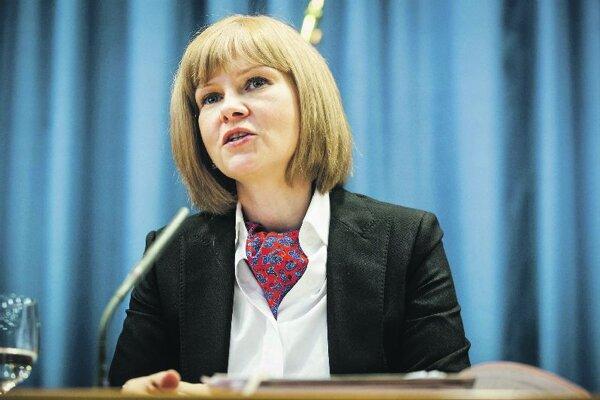 Health Minister Zuzana Zvolenská