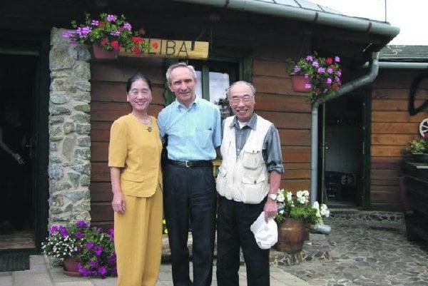 Seiichi Okubo with Vladimír Urban.