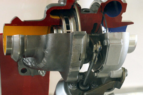 Honeywell produces turbochargers components.