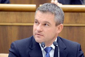 Speaker of Parliament Peter Pellegrini
