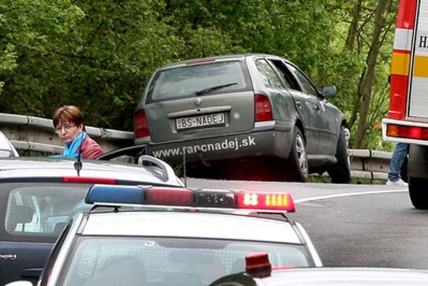 The car accident of Ondrej Binder.