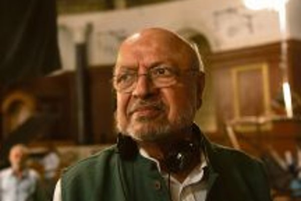 Shyam Benegal during the filmin