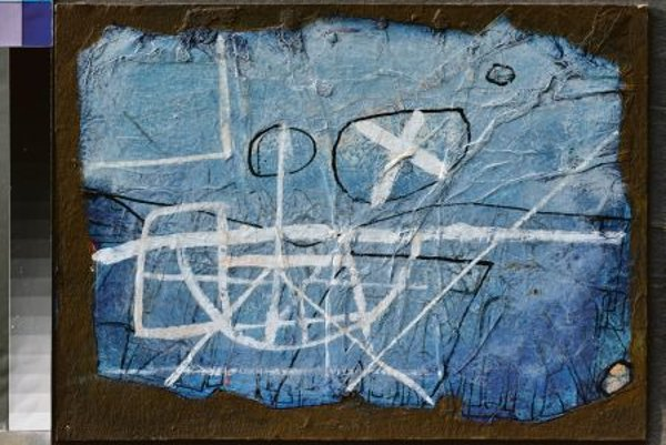 Cipár: The Blue (tempera, 1980)