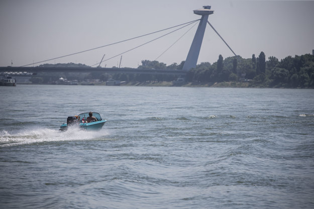 The Solstice on the Danube, illustrative stock photo.