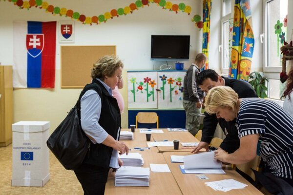 Only 13.05 percent of Slovak voters cast their vote in the elections to the European Parliament.