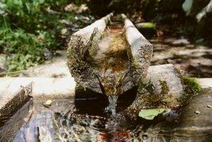Drinking water, illustrative stock photo