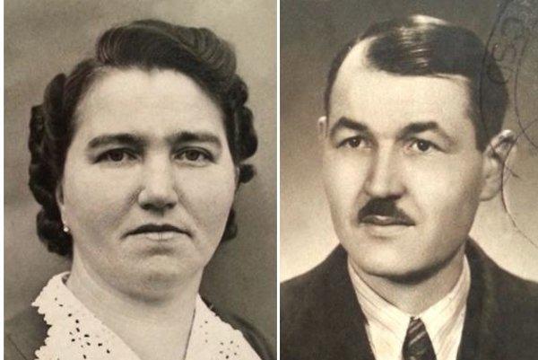 Katarína and František Sedláček