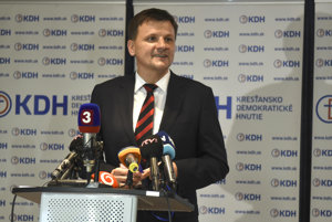 Alojz Hlina took over at the helm of KDH