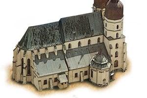 Basilica of St Nicolas in Trnava
