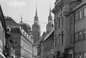 K. Plicka: Trnava, 1940s
