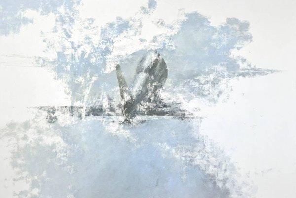 Rastislav Podoba, Air, 2012, oil on canvas