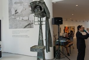 Joan Miró, Spouvenir fot he Eiffel Tower, 1977.