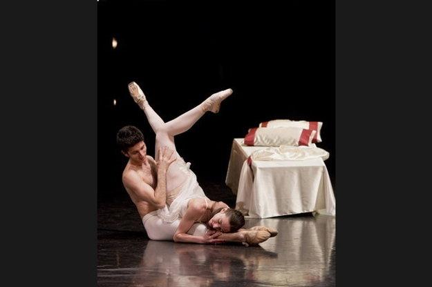 Romeo and Juliet in SND, illustrative stock photo.