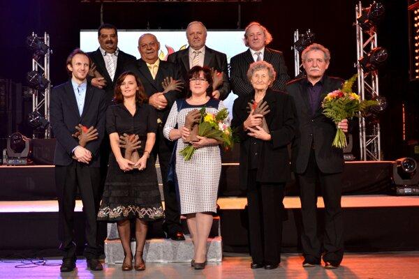 Roma Spirit 2014 Laureates