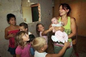 Roma communities, illustrative stock photo