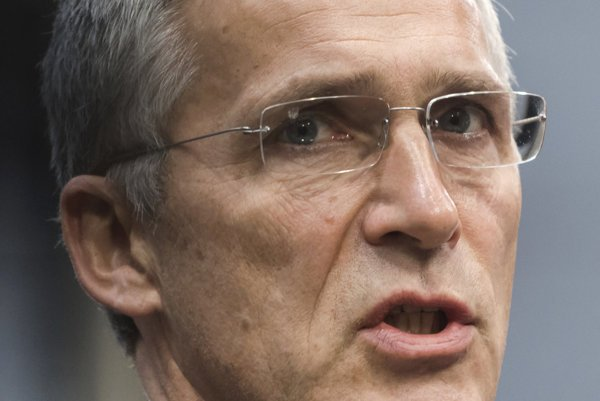the Head of NATO Jens Stoltenberg
