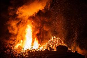 The fire at UPJŠ in Košice