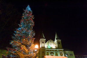 Christmas atmosphere in Žilina