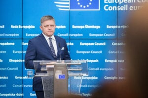 Slovak OM Robert Fico in Brussels, December 16