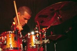 Martin Valihora on drums