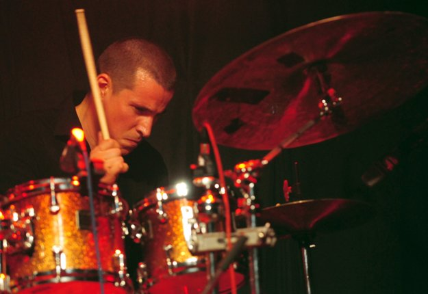 Martin Valihora on drums
