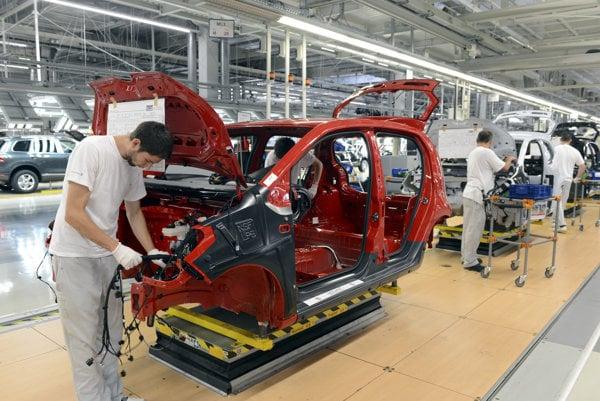 Slovakia focuses mostly on automotive industry.