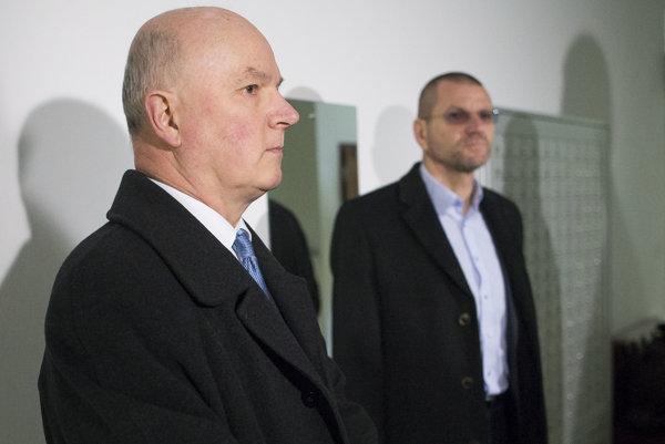 Marián Janušek (l) and Igor Štefanov (r)