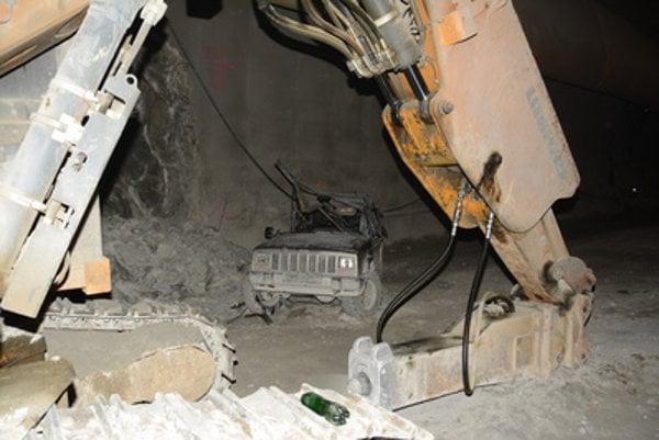 Fatal accident in Višňové tunnel.