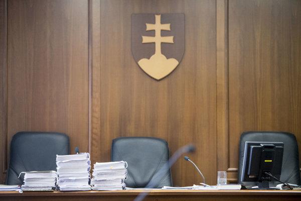 Courtroom - illustrative stock photo